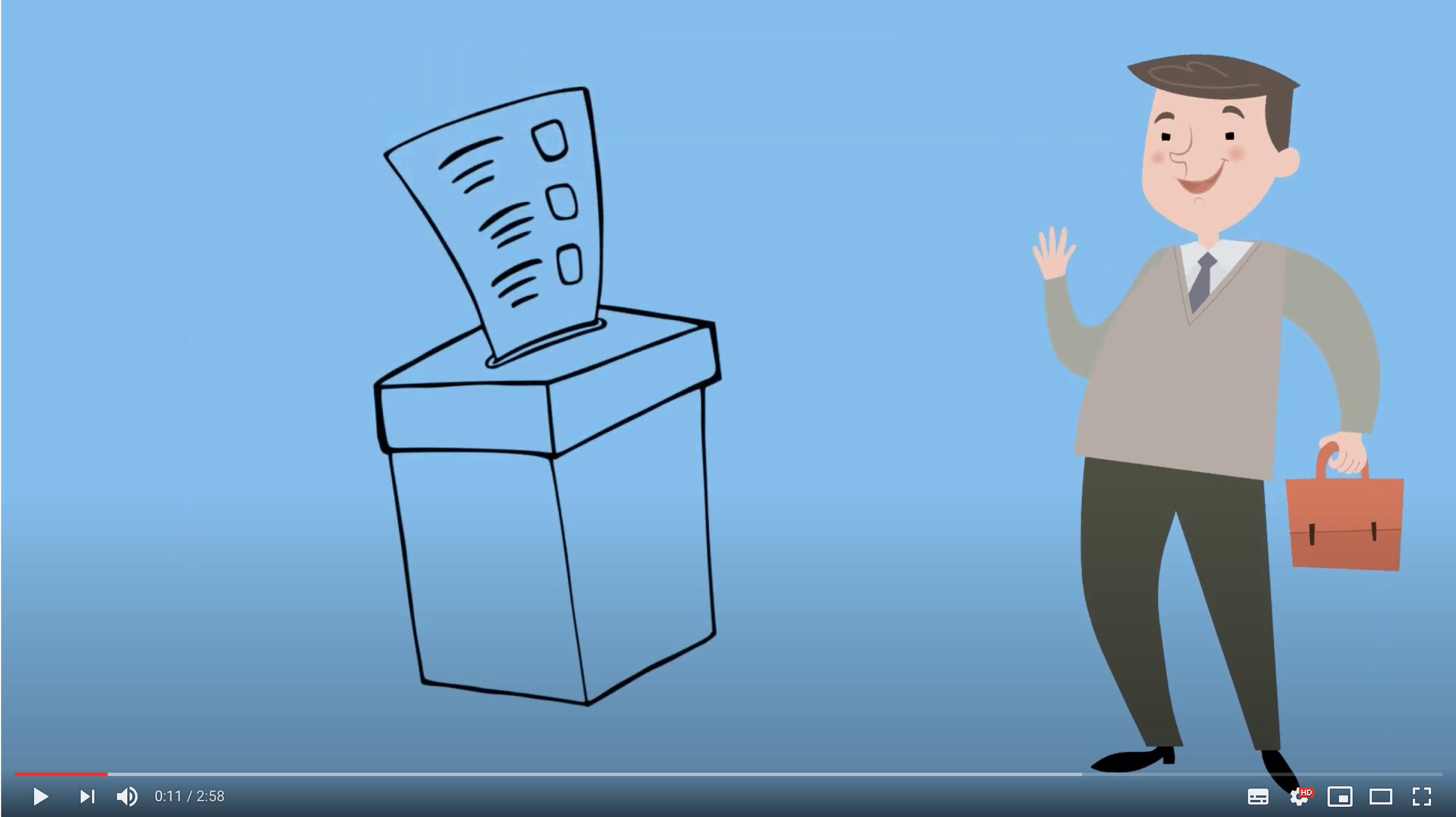 Conseil général : comment voter ?